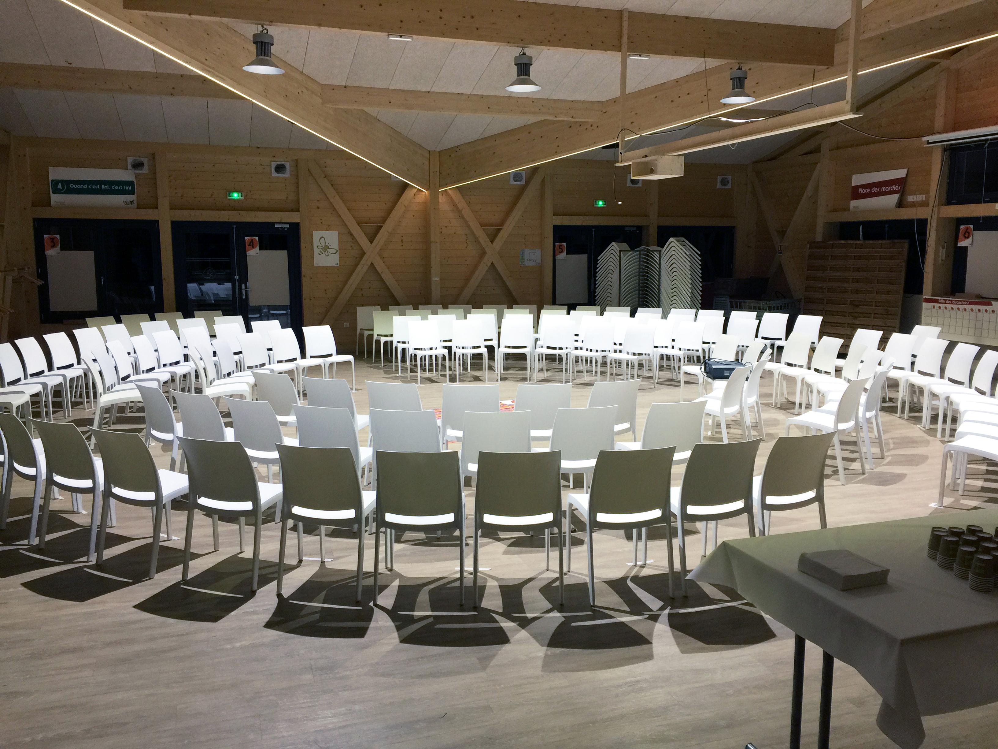 Salle de séminaire au Domaine du Hirtz
